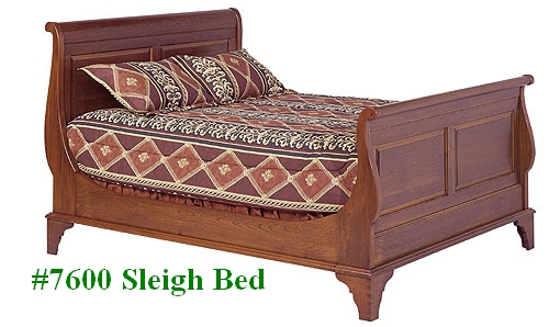 Cherry Sleigh Bed ...