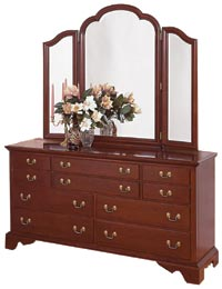 Cherry Bedroom Furniture Cherry Dressers Cherry Mirrors Cherry ...